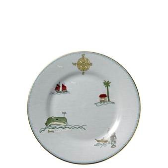Kit Kemp Sailors Farewell Salad Plate