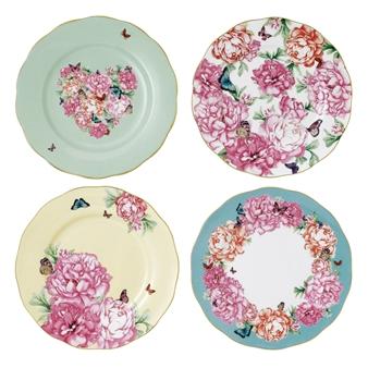 로얄 알버트 X 미란다 커 프렌즈쉽 접시 세트 Miranda Kerr Royal Albert Accent Plate, Set of 4