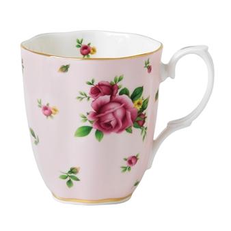 로얄 알버트 Royal Albert New Country Roses Pink Vintage Mug