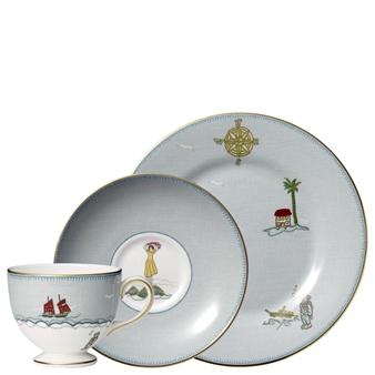 Kit Kemp Sailors Farewell 3-Piece Tea Set