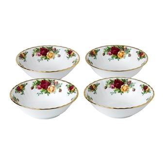 로얄 알버트 Royal Albert Old Country Roses Bowl, Set of 4
