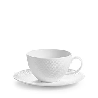 웨지우드 Wedgwood Gio Teacup & Saucer Set