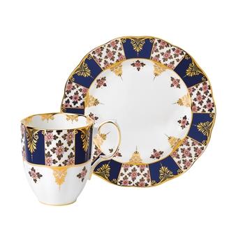 로얄 알버트 Royal Albert 100 Years 1900 2-Piece Set, Regency Blue