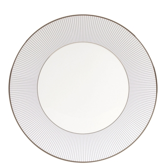 Jasper Conran Blue Pin Stripe Dinner Plate