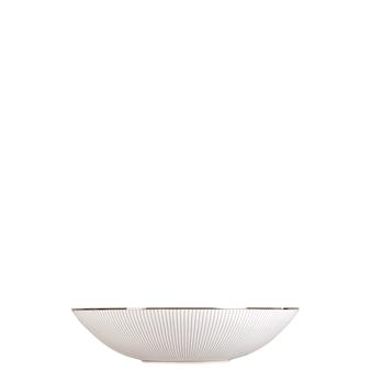 Jasper Conran Blue Pin Stripe Cereal Bowl
