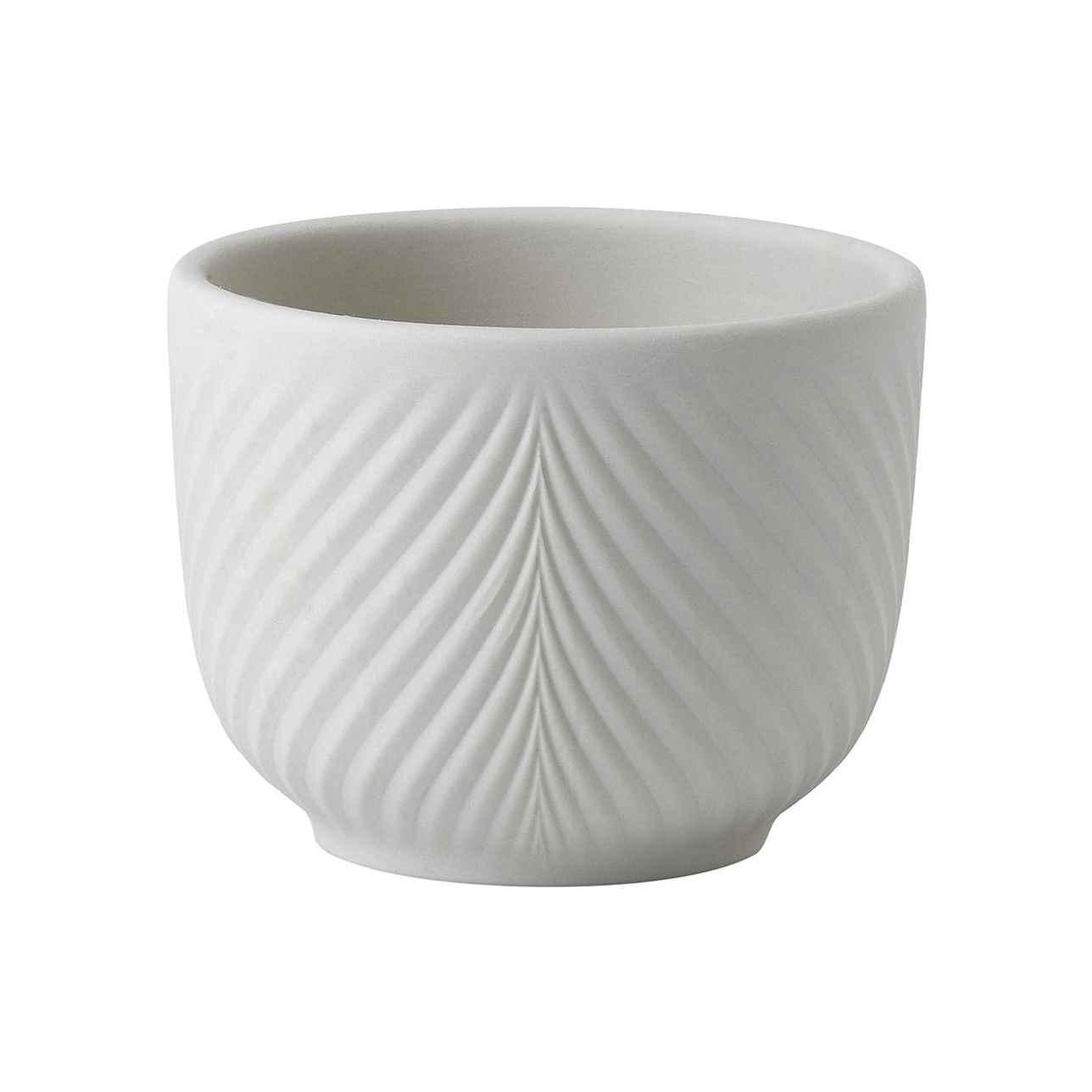 Jasper Folia Warm White Mini Pot