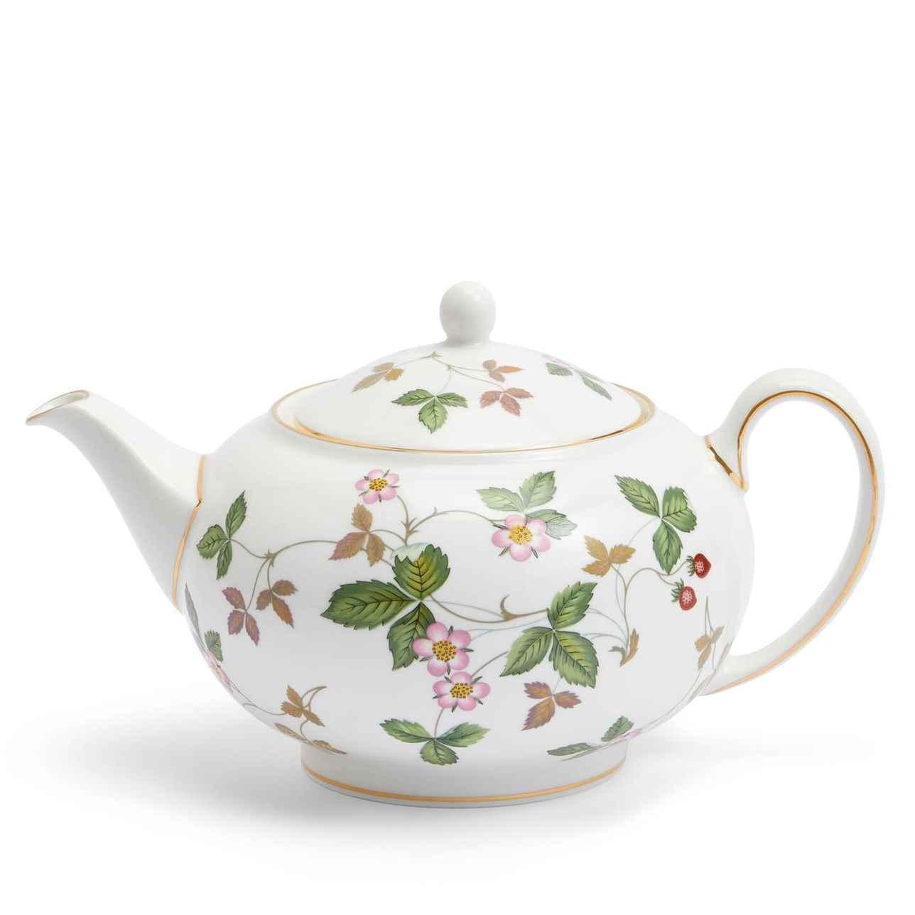 Wild Strawberry Teapot