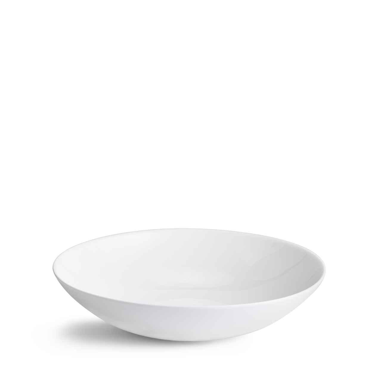 Jasper Conran White Pasta Bowl 25cm