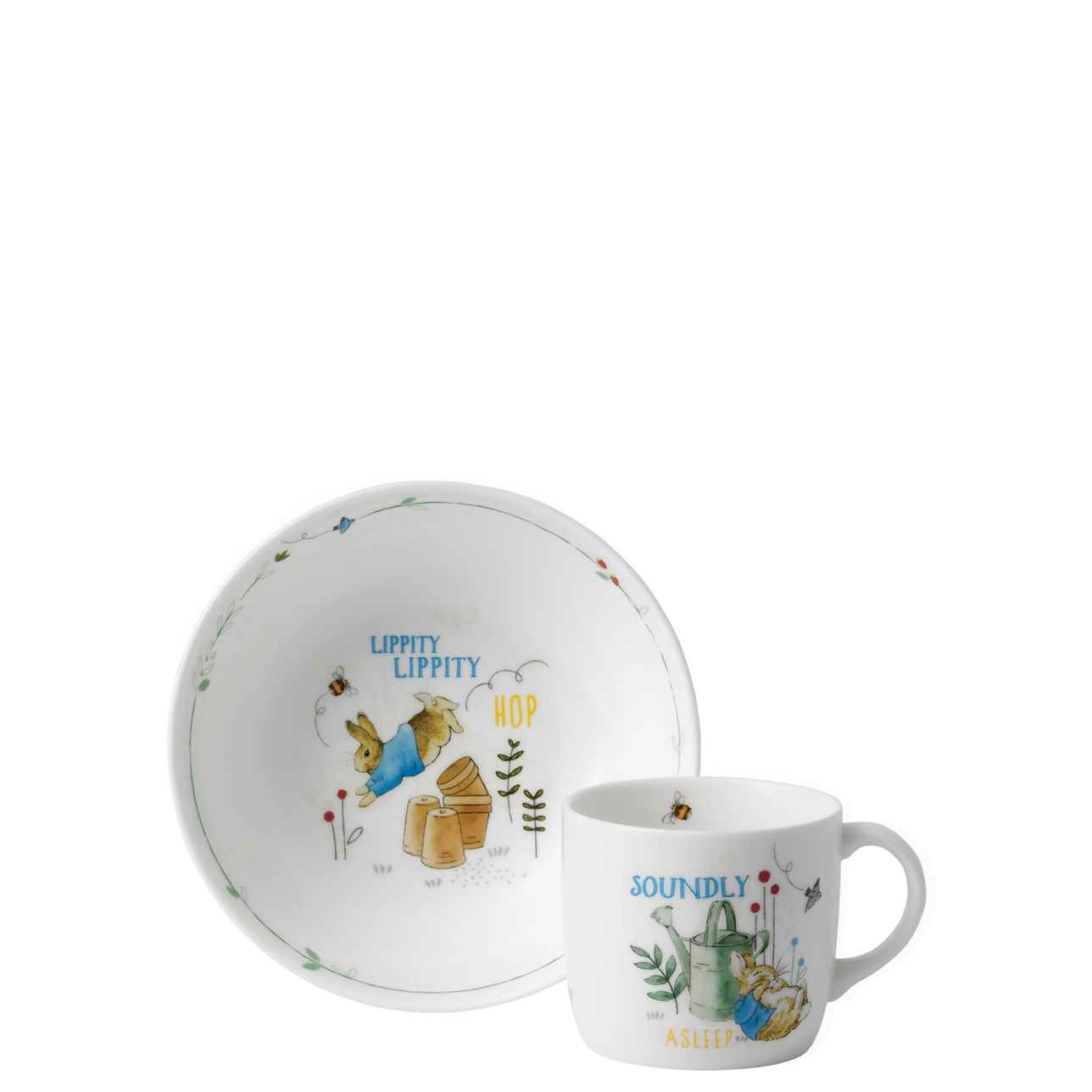 Peter Rabbit 2 Piece Set – Blue