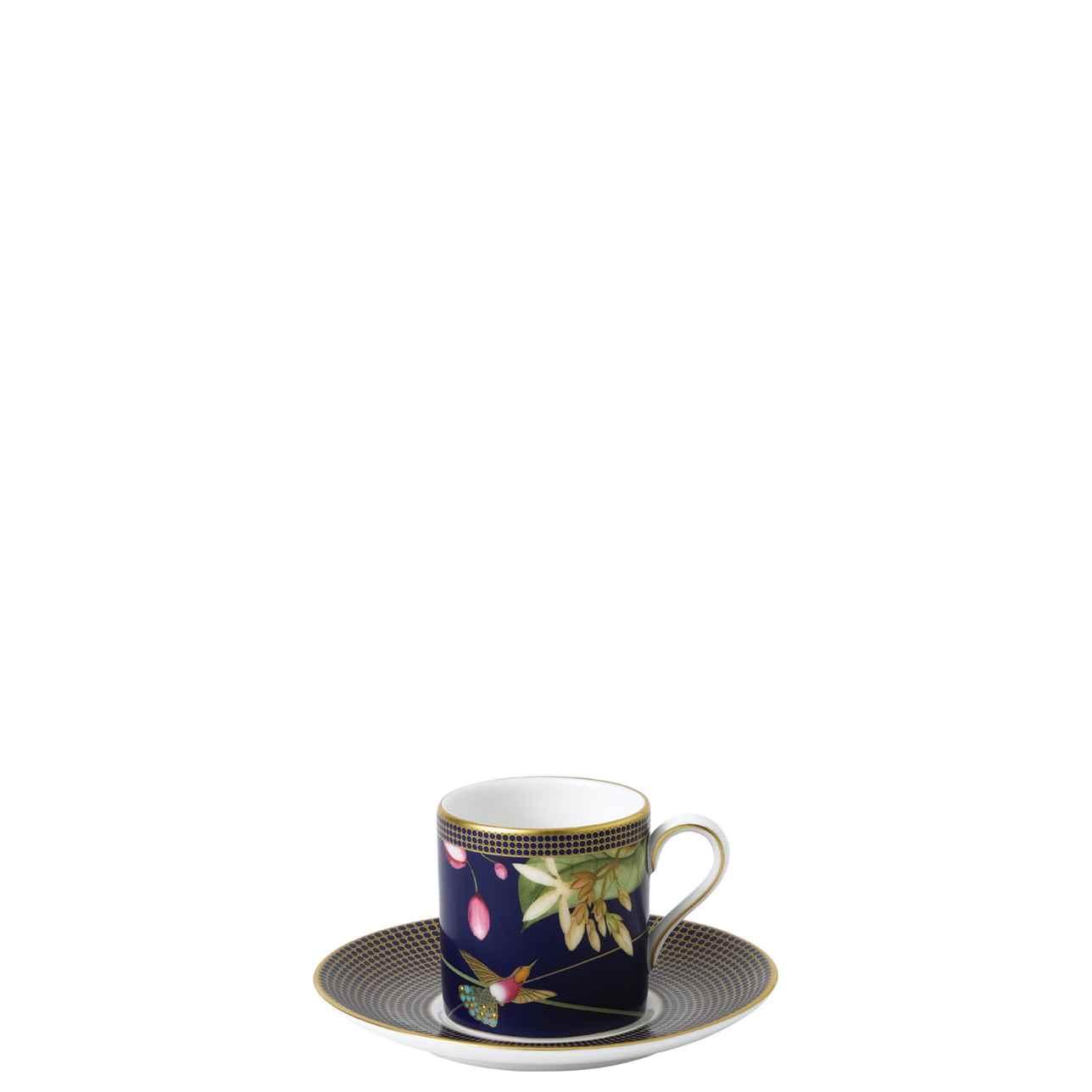 Hummingbird Espresso Cup and Saucer