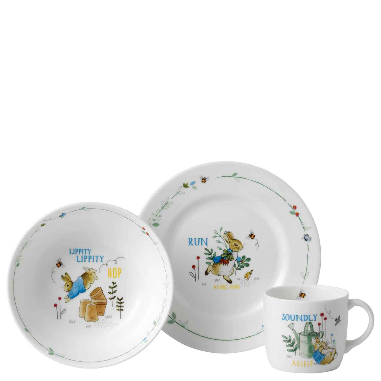 Peter Rabbit 3 Piece Set – Blue