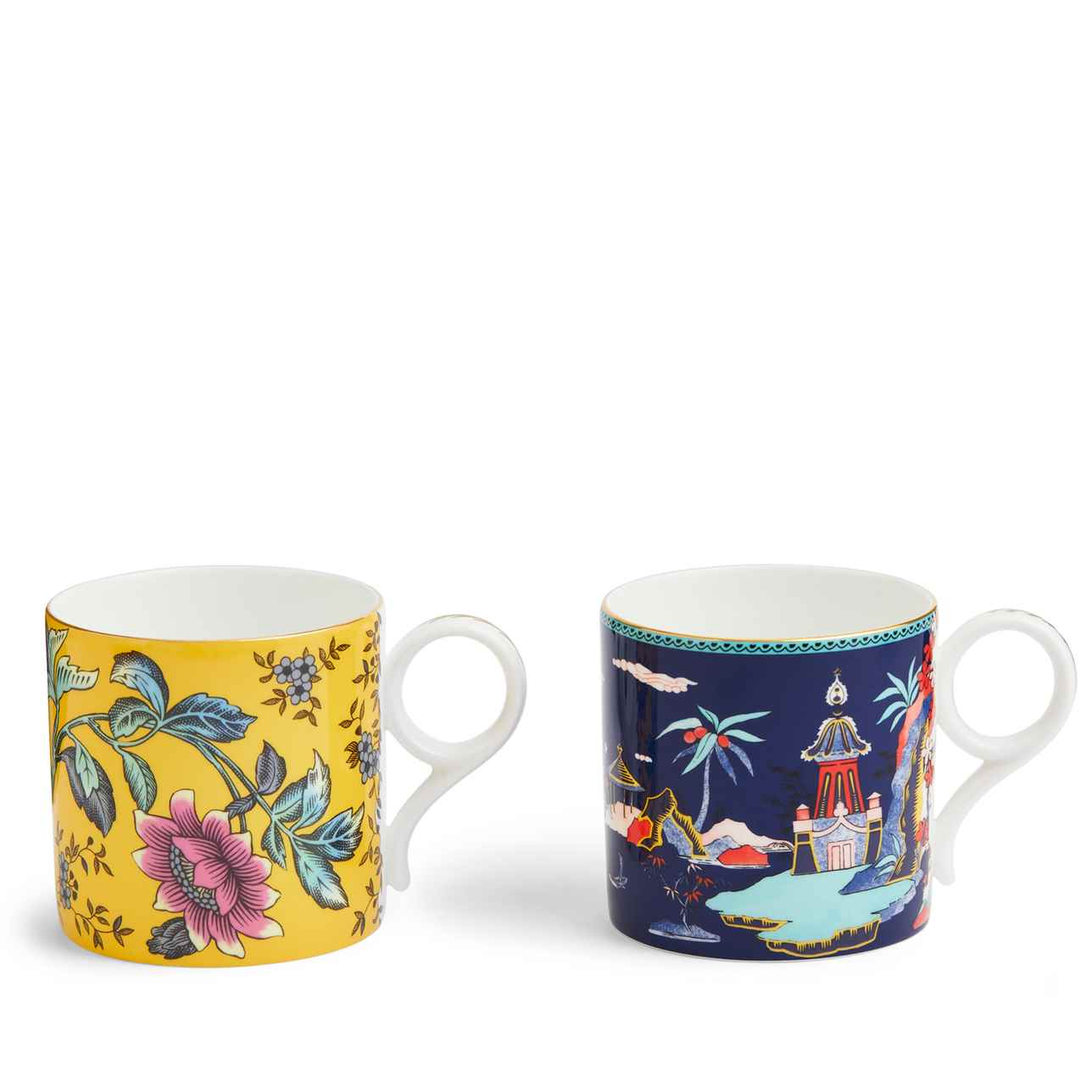 Wonderlust Mug, Set of 2