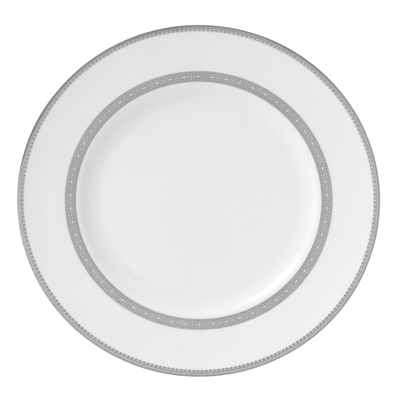 Vera Wang Lace Platinum Dinner Plate 27cm