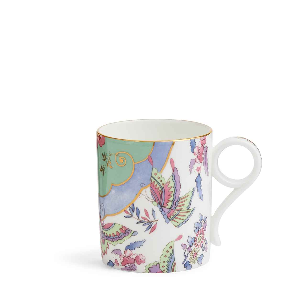 Wonderlust Butterfly Posy Mug