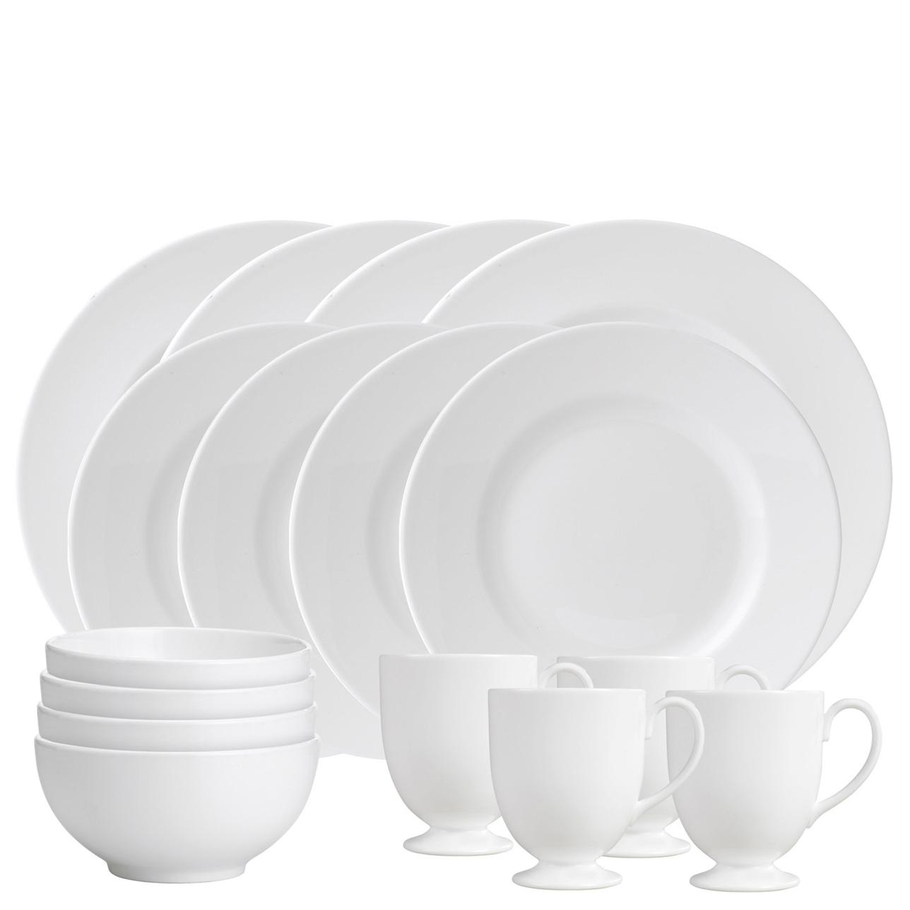 Wedgwood White 16 Piece Dinner Set