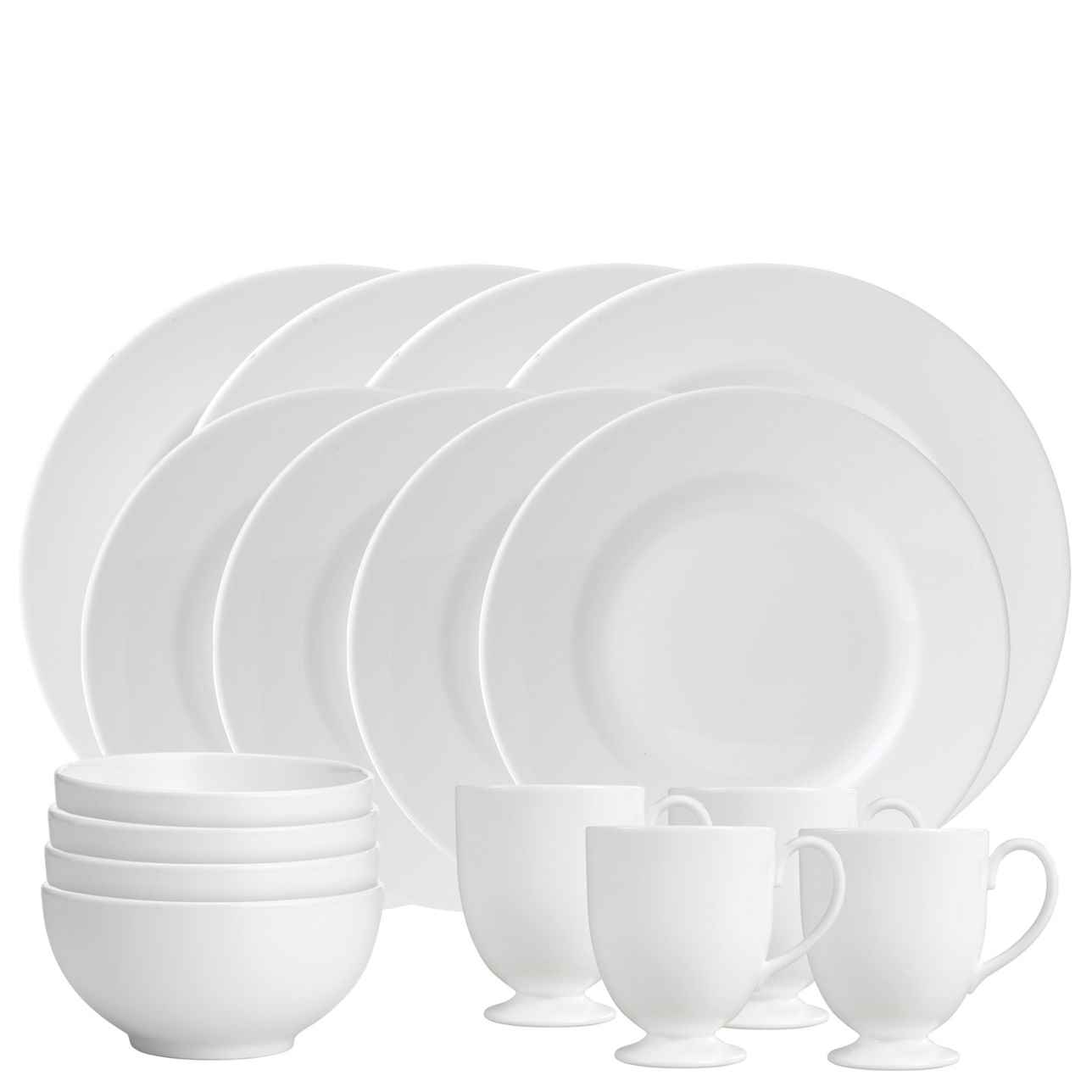 Wedgwood White 16 Piece Dinner Set
