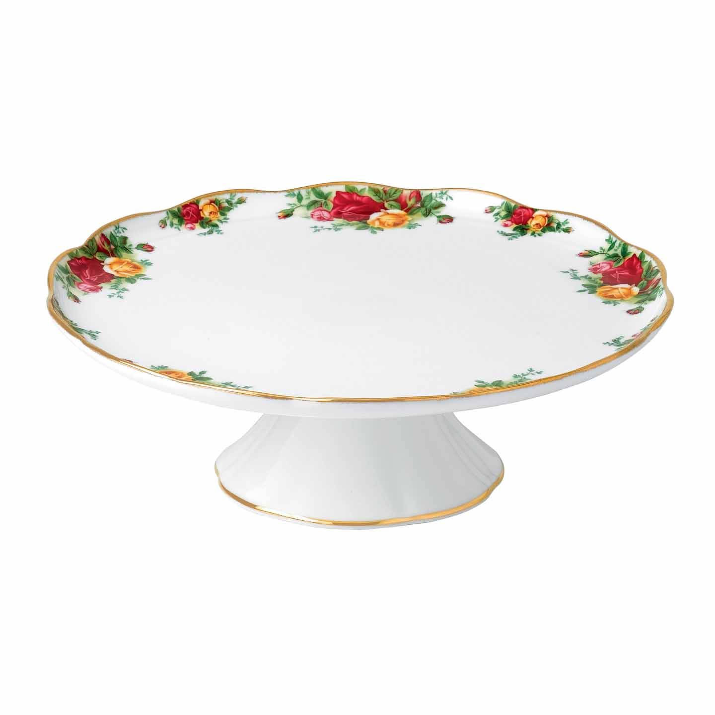 Kitchen Royal Albert Old Country Roses Large Cake Stand