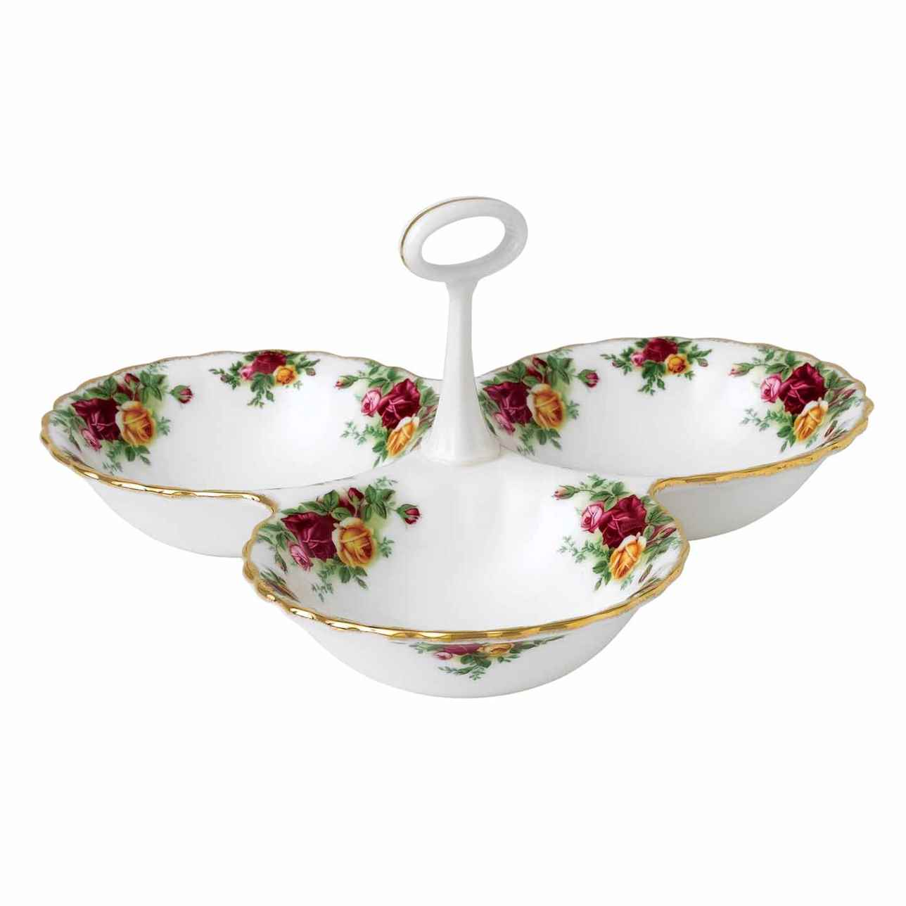 Royal Albert Old Country Roses Divided Tray