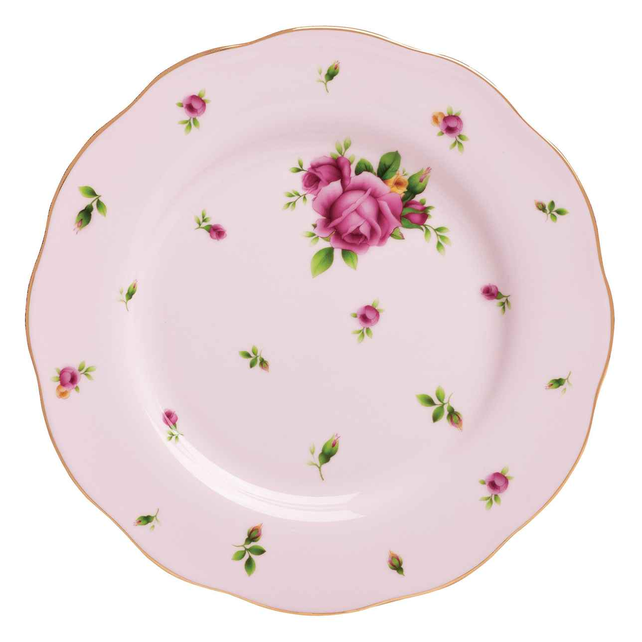 Royal Albert New Country Roses Pink Vintage Side Plate 20cm