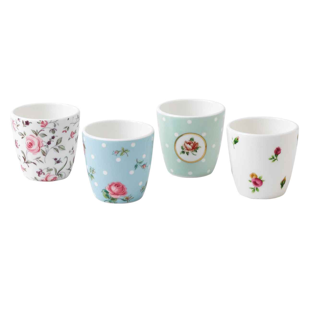 Royal Albert Giftware Small Cups / Egg Cup, Set of 4