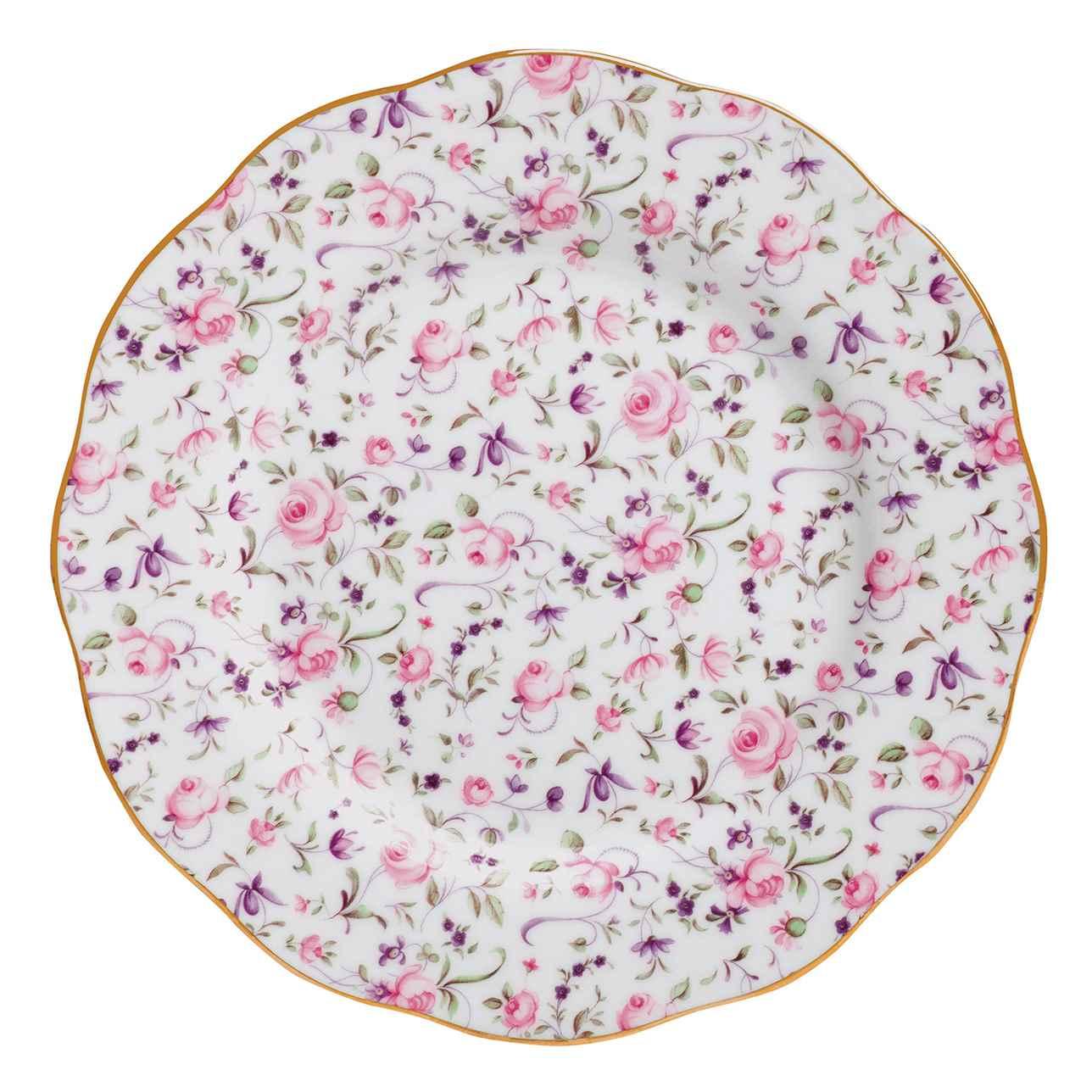 Royal Albert Rose Confetti Vintage Side Plate 20cm