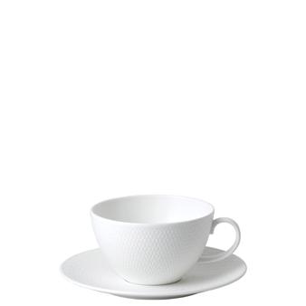 웨지우드 Wedgwood Gio Breakfast Cup & Saucer Set