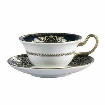 웨지우드 프레스티지 찻잔 받침대 Wedgwood Prestige Astbury Black Tea Saucer