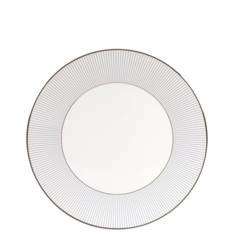 Jasper Conran Blue Pin Stripe Salad Plate