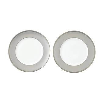 웨지우드 크리스마스 2020 윈터 화이트 접시 (2pc) Wedgwood Winter White 27cm Plate, Set of Two