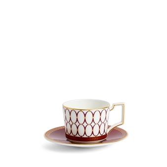 웨지우드 Wedgwood Renaissance Red Espresso Cup & Saucer