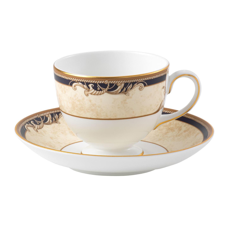 Crockery Cornucopia Teacup & Saucer