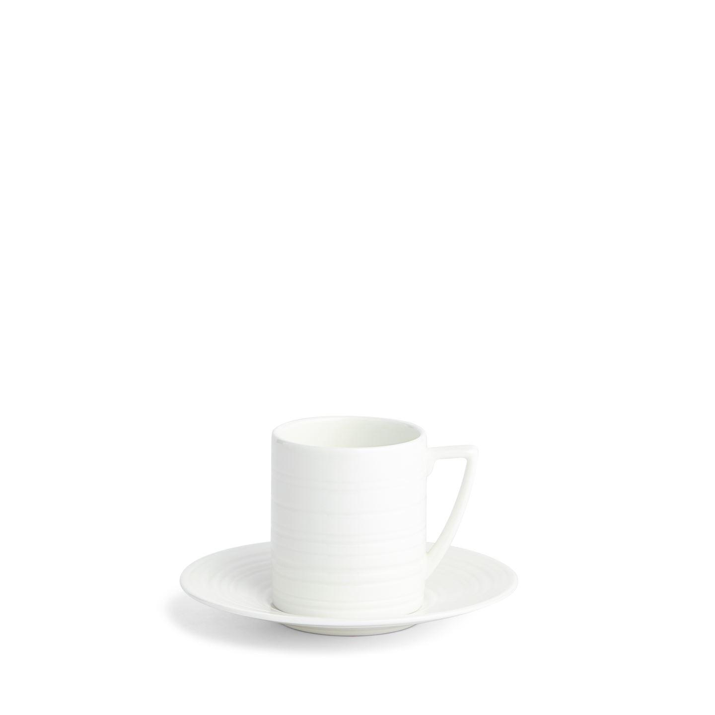 Crockery Jasper Conran Strata Coffee Cup & Saucer