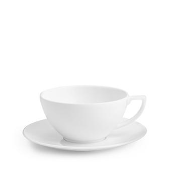 Jasper Conran White Teacup and Saucer