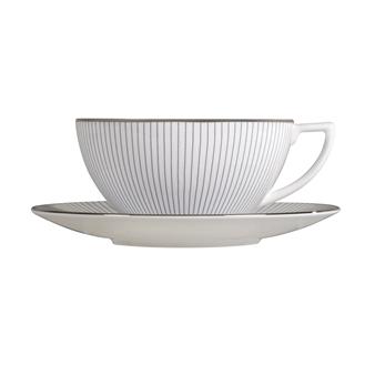 Jasper Conran Pin Stripe Teacup & Saucer