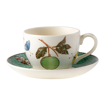 웨지우드 Wedgwood Sarahs Garden Teacup & Saucer Green