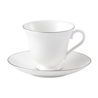 웨지우드 Wedgwood Signet Platinum Teacup & Saucer
