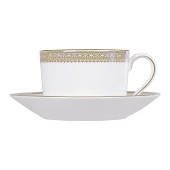 Vera Wang Lace Gold Teacup & Saucer