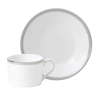 Vera Wang Grosgrain Teacup & Saucer